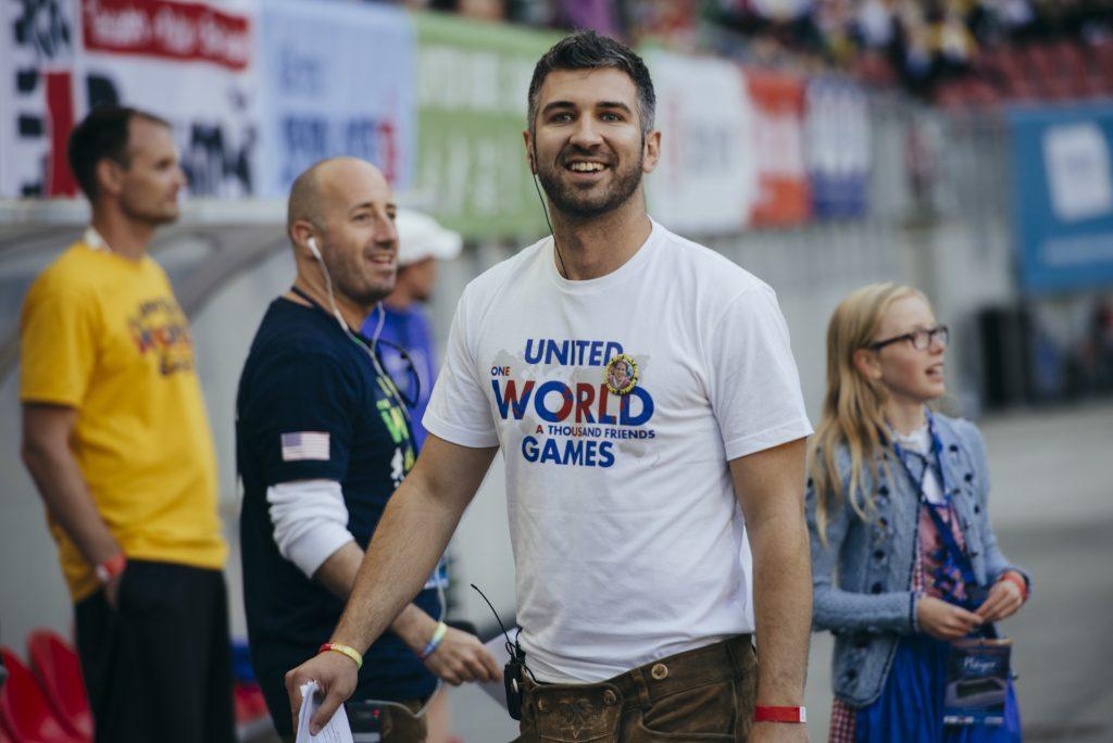 Participant seen during United World Games 2018, June 22.-24. 2018 at Klagenfurt, Austria.